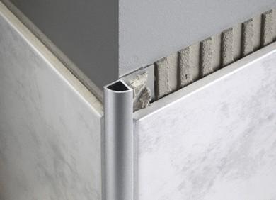 Aluminium Closed Quad Trim Floor And Wall Solutions