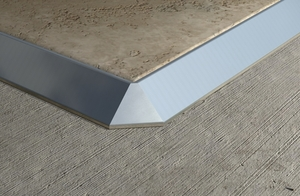 Aluminium Straight Edge Trim 4 Mm Aluminium Straight Edge