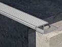 Aluminium Tile-In Step Edge