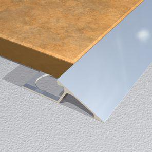 Ramp Profiles Aluminium Brass Stainless And Wood Floor
