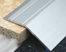 30 x 8 mm Aluminium Angle Edge - Self Adhesive 2.7 Mtr