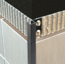 Aluminium Square Edge Trim & Corners