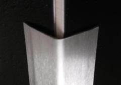 Steelect Stainless Heavy Duty Corner Guards 50mm 1.22mtr