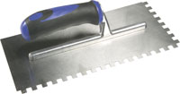 Softgrip Trowel 8mm Square Notch